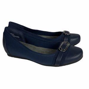 BareTraps Markie Navy Blue Ballet Flat Sz 8.5
